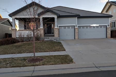 14 min from DIA - 2 BRs, 2 Ba, All in Ranch Home