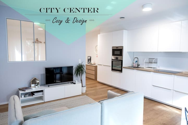 Luxembourg City - Brand new design Apartment