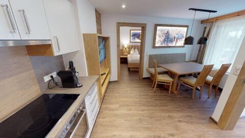 Appartment mit 2 Schlafzimmer und Infarotkabine