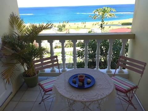 Frigate Bay Apartment With Stunning Ocean Views.