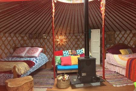 Traditional Mongolian yurt - Ballymacoda