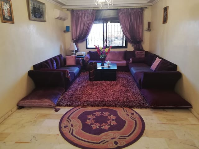 Le charme de marrakech avec une vue superbe