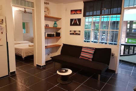 Cosy apartaestudio in the centre of Santa Marta