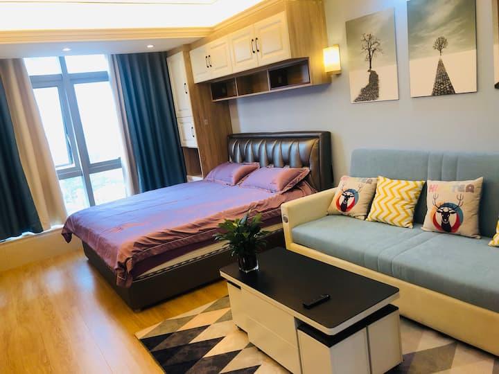 徐州大龙湖畔绿地商务中心市政府奥体一室美寓