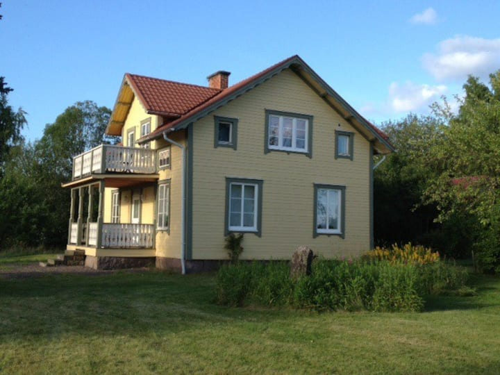 Large house in beautiful Fryksdalen