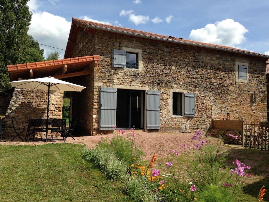belle grange am nag e en 2013 houses for rent in cortambert france. Black Bedroom Furniture Sets. Home Design Ideas