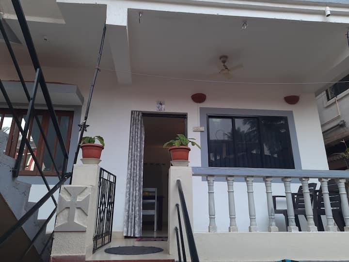 Evarista's apartment.