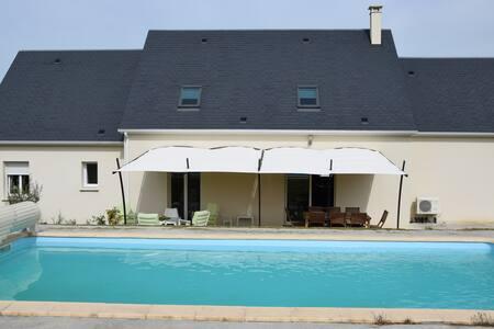 Le Haut Luain chambre vive - Chambourg-sur-Indre