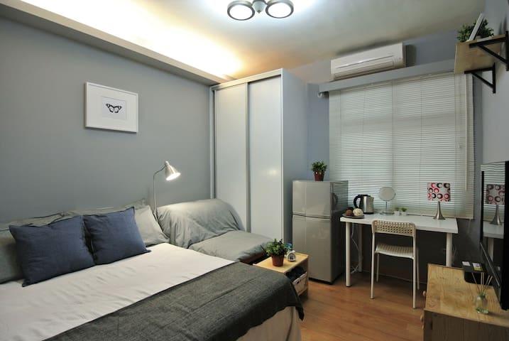 HELLO Inn-Room Life MRT Zhongxiao Dunhua 5 mins