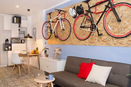 The Bike Apartment at Las Canteras beach