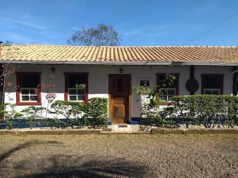 Casa colonial em Glaura - Distrito de Ouro Preto