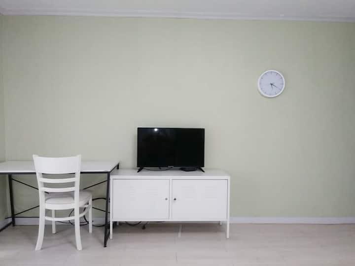 (매일소독)청정기까지완비된 4인실ㆍ서대전IC부근ㆍ출장숙소