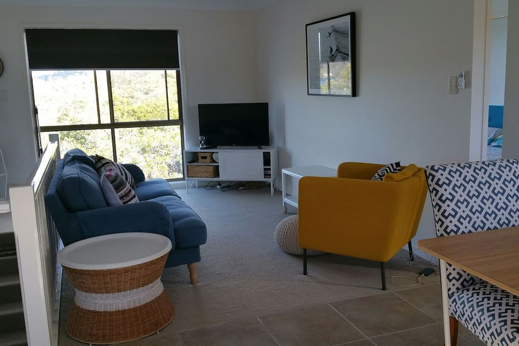 Living room - Smart TV, Wi Fi, DVD
