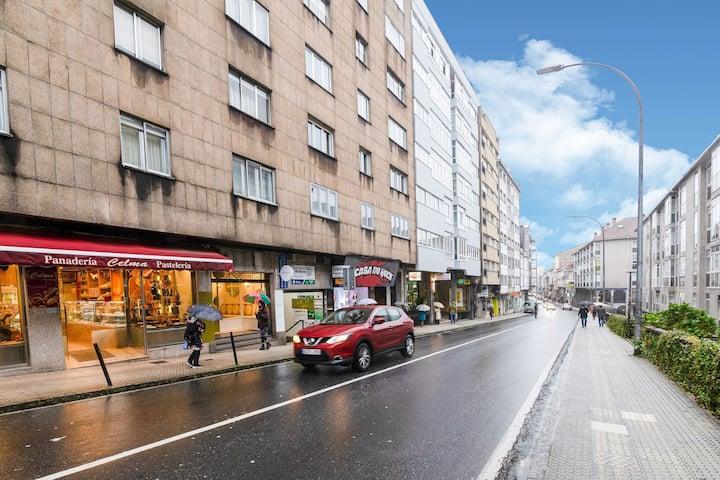 Snug Apartment in Santiago de Compostela with Terrace