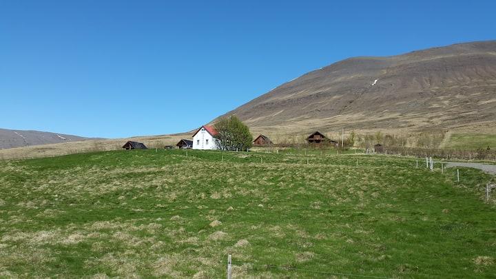 Svarfhóll, oldstyle farmhouse, room 1