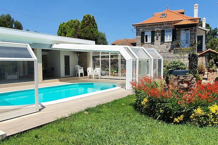 Quinta Rural com piscina a 20 minutos do Porto