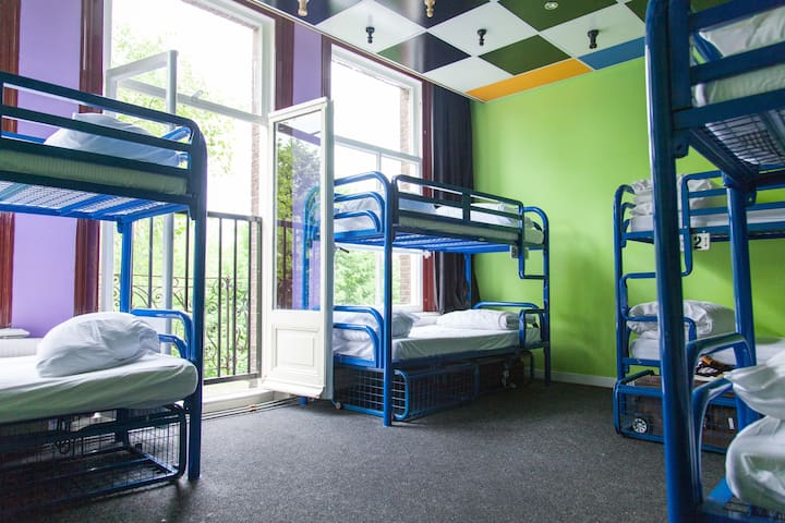 Bed in 8 Bed Dorm