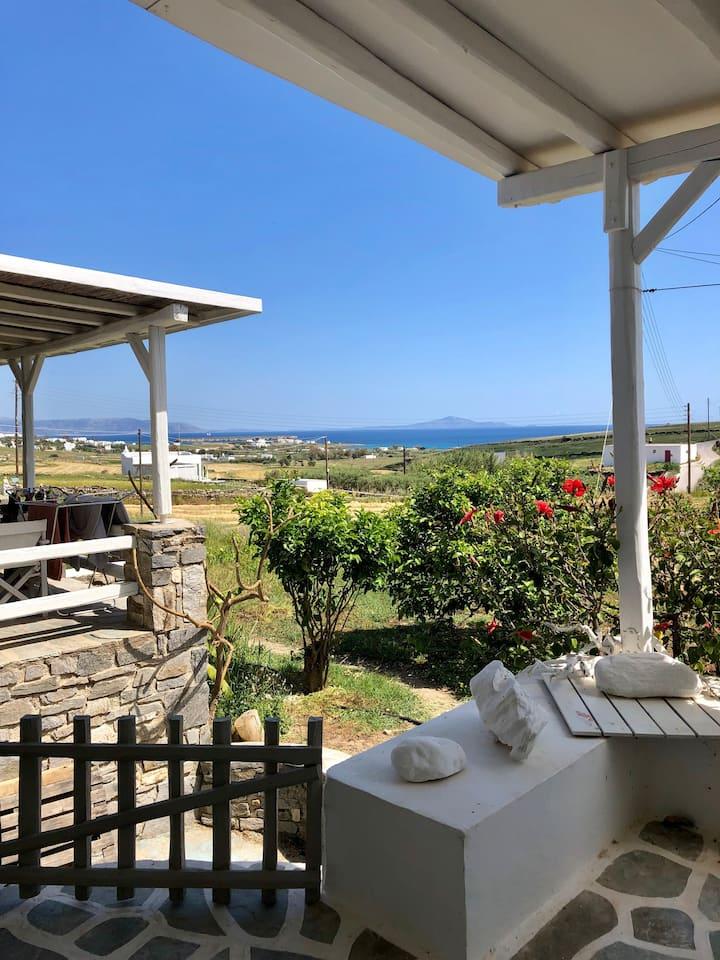 "Cosy Luxury Studio ""Aegean""  Seaview @Golden Beach"