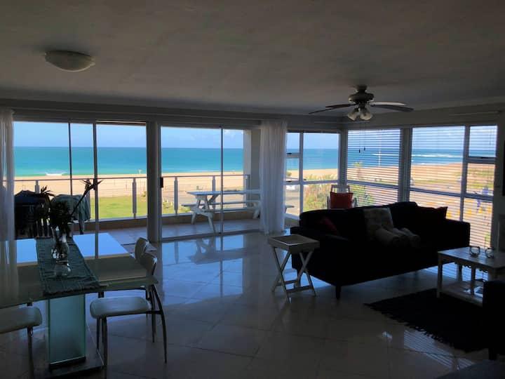 Amazing Beachfront Apartment!