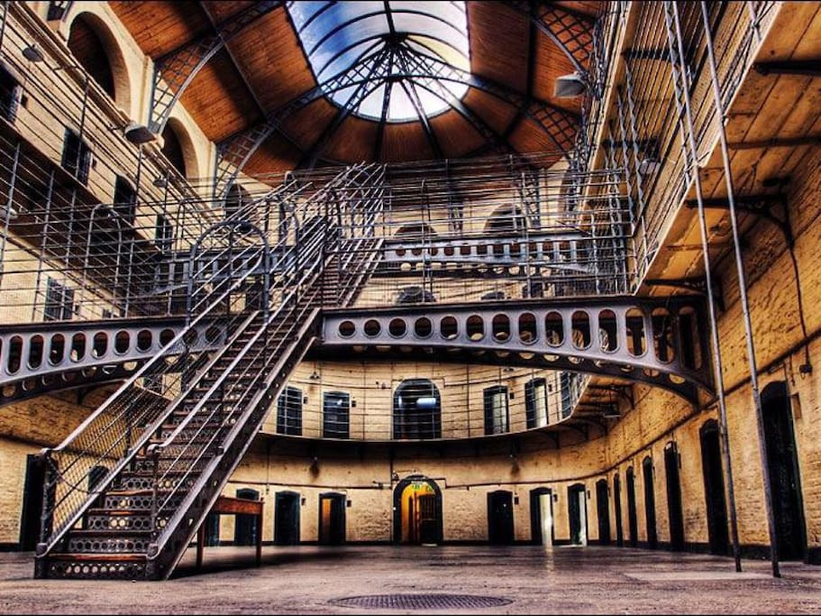 Kilmainham Goal is a former prison. It is now a museum, also walking distance from my place