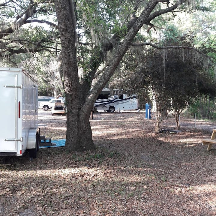 Camping in the country