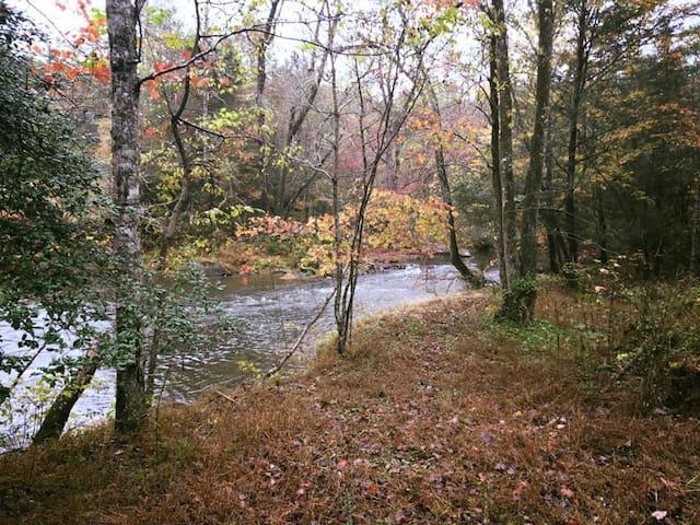 Riverbend Cabin-10 acres, Hiking, Toccoa River