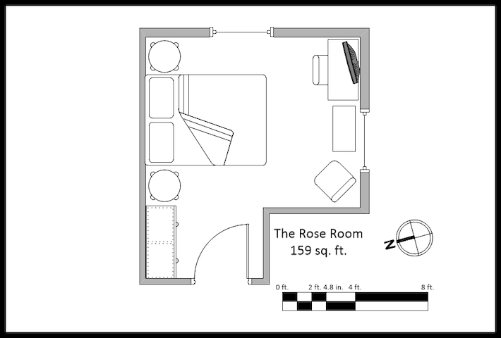 The Rose Room Layout
