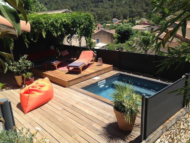 Villa piscine/jacuzzi - Carnoux-en-Provence - Dom