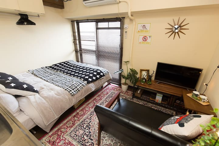 TopFloor StudioApt, Gr8 Night View! nr2STA&Shibuya - Setagaya-ku - Apartment