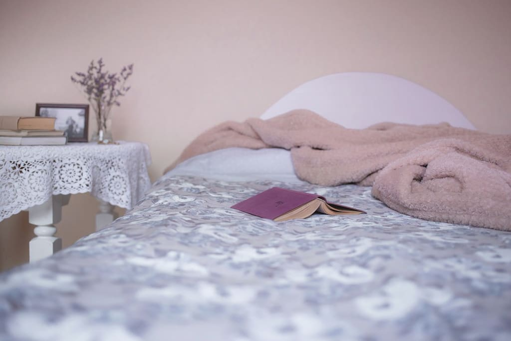 Bed looks like this... with freedom and totally privacy for couple or for family of 4 people