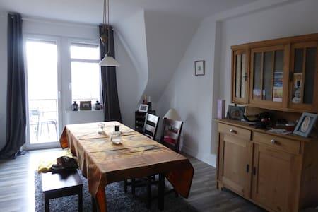 Zimmer in schöner Altbauwohnung - Mosbach - Apartamento