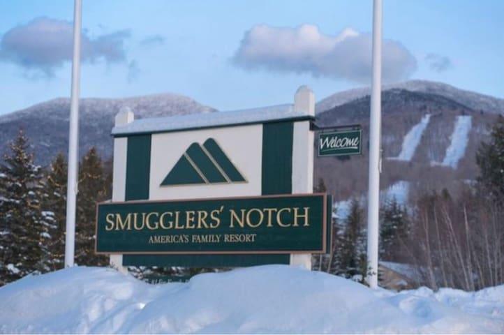 1 Bedroom condo in Smugglers' Notch Resort