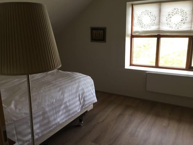 The big bedroom.
