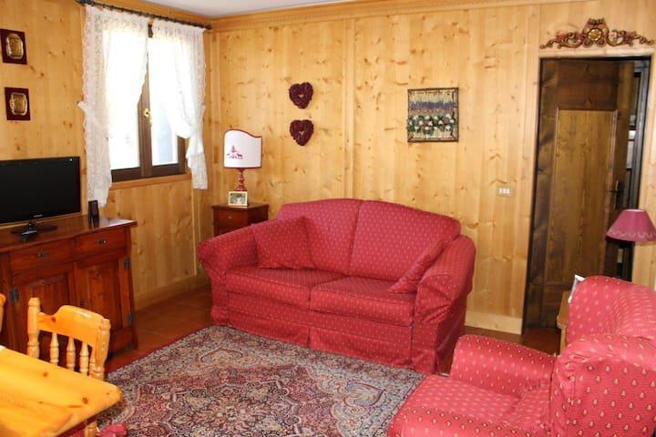 Accogliente appartamento a Borca di Cadore