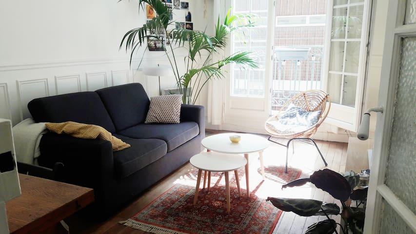 Appartement haussmannien au coeur de Paris - París - Pis