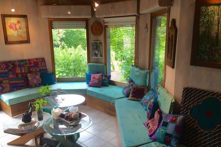 Chambre Double proche de Strasbourg et Forêt Noire - Kilstett - Huis