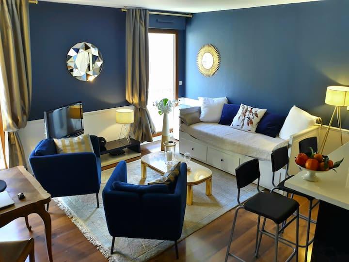 Center of Aix - charmful 1 bedroom aptmt