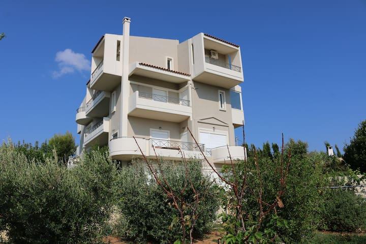 Ferienwohnung bei Athen - Ntrafi - Appartement