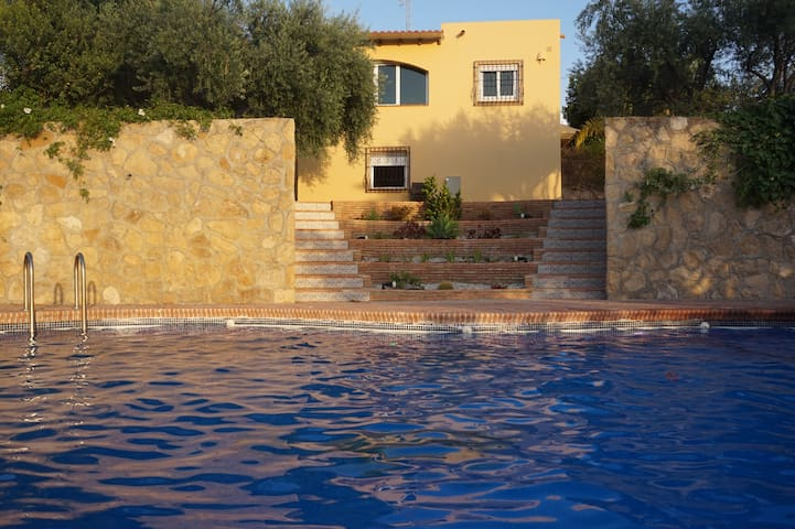 Beautiful villa with large private land and pool