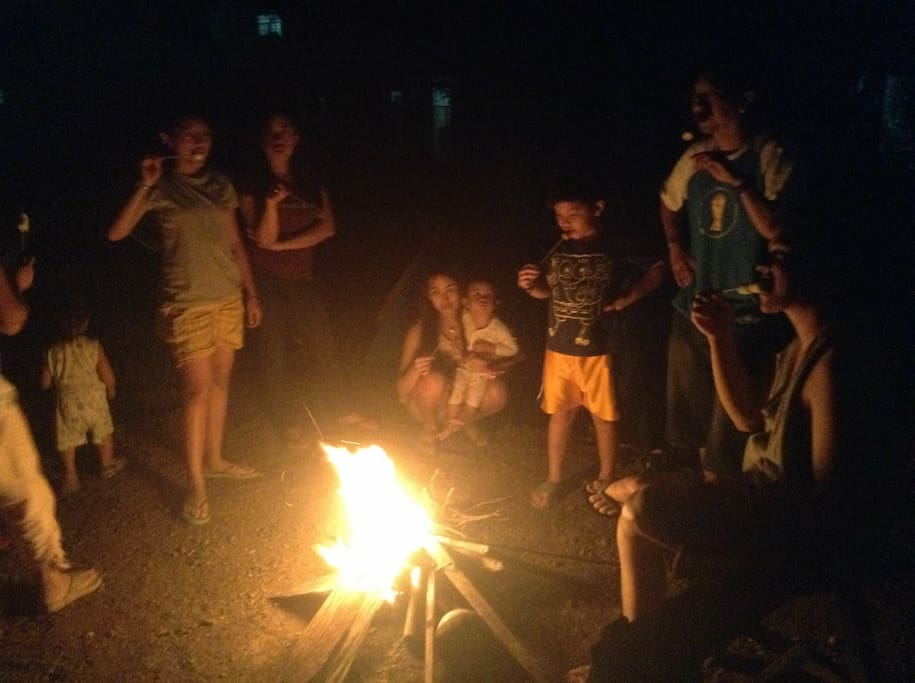 You can start a bonfire with your family or barkada while sharing stories - funny, spooky or otherwise