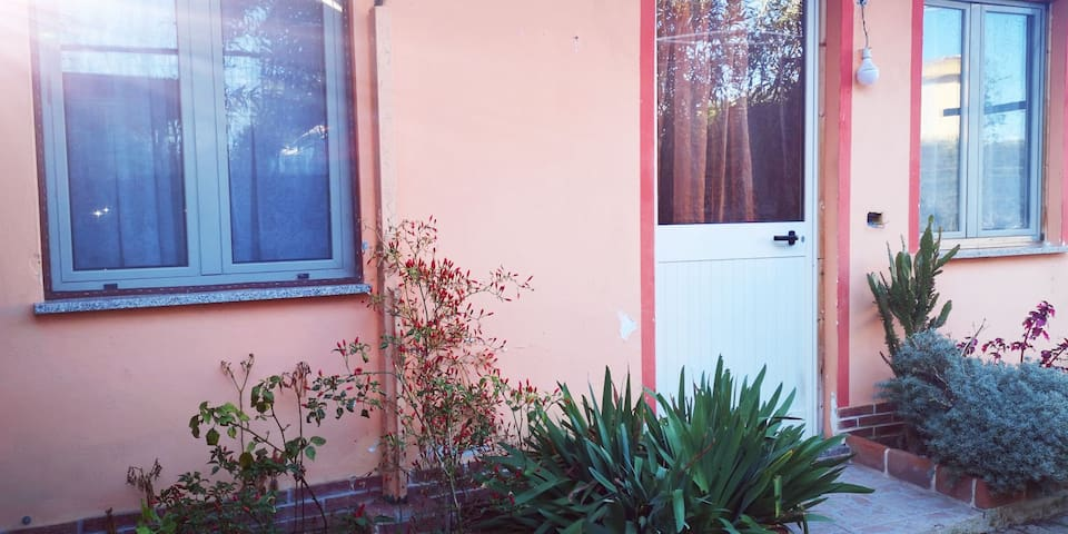 Casa a porticciolo verde, flumini di Quartu.