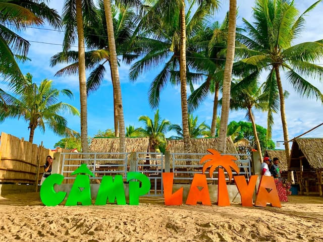 Camp Laiya Beach Bahay na Bato 1 for 10-12pax