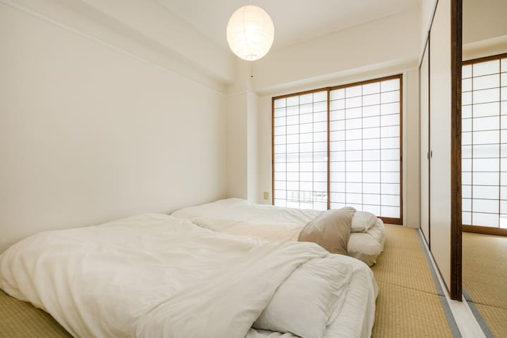 Biwako breeze GOOD access to KYOTO! Big rooms,Max8