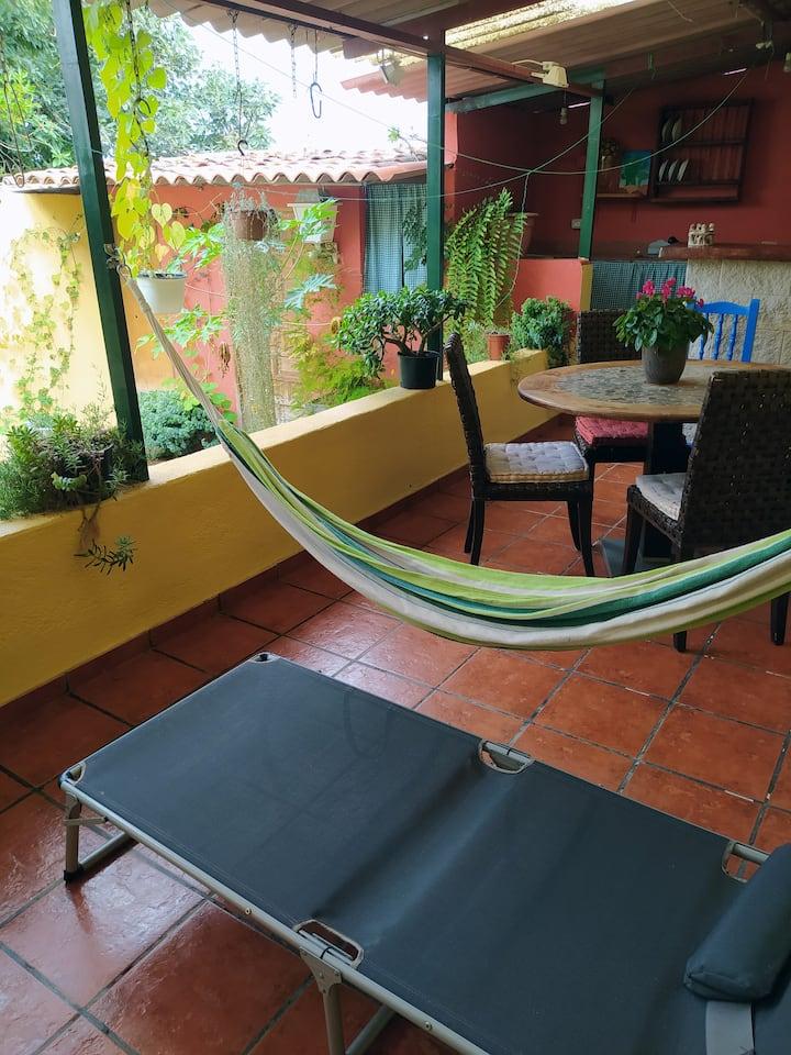 habitacion individual Casa Antigua típica Canaria.
