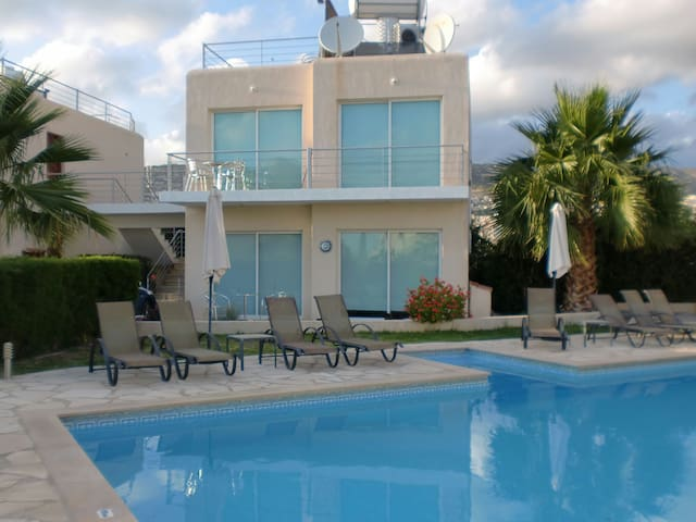 Comtempoary apartment with pool WOW - Peyia - Daire