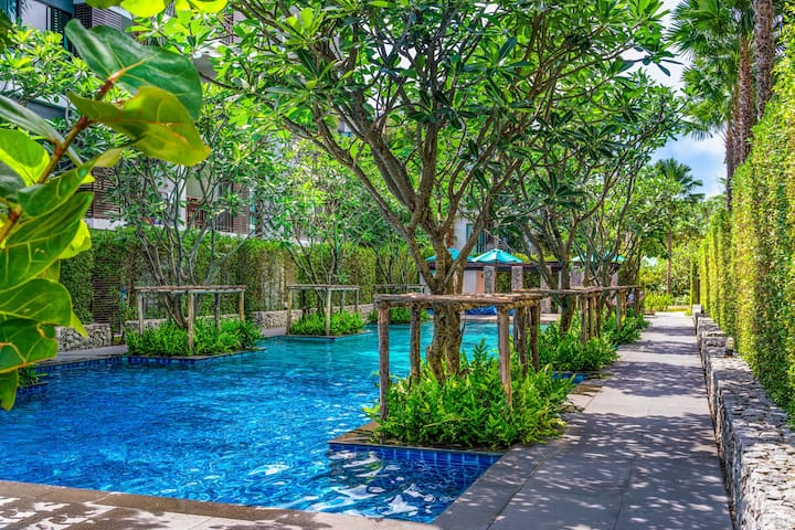Garden Entrance 1 Bedroom Apartment @Rawai - 50m
