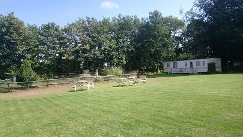 Willerby Lodge. Quiet and rural near the coast.