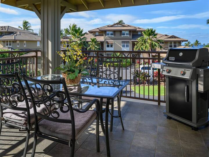 A Big Island Beauty with Ocean Views - Halii Kai at Waikoloa Unit #17A
