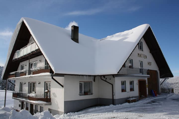 Spacious Apartment in Wehrhalden near Cross-country Skiing