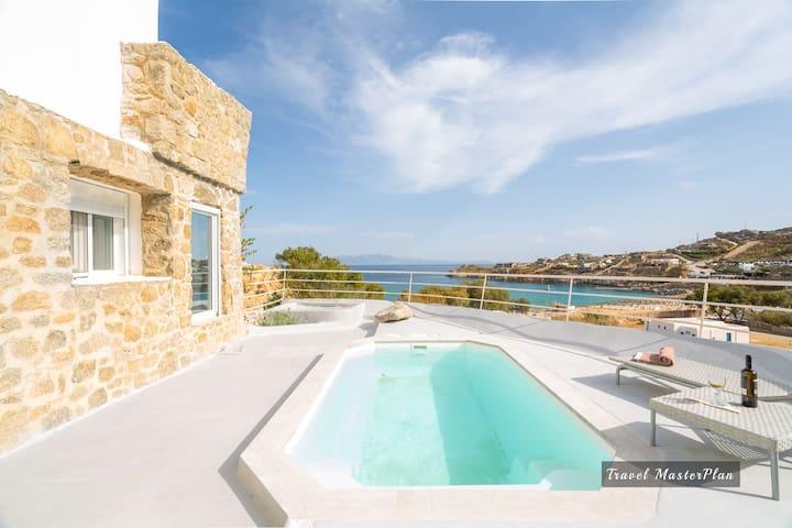 Villa Anemeli with private plunge pool, Mykonos